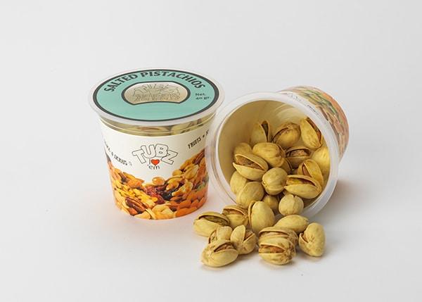 Tubz Tapas Salted Pistachios (pistache noten)