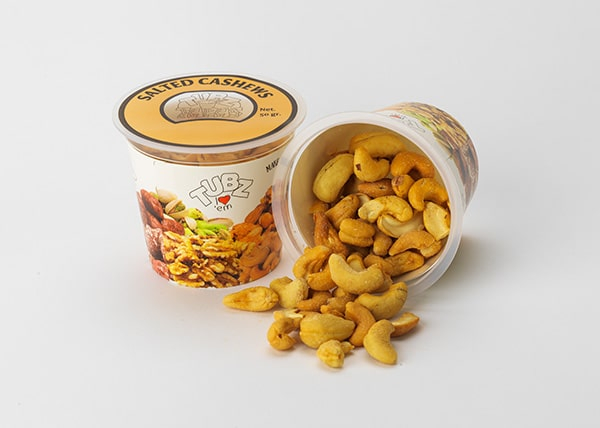 Tubz Tapas Salted Cashews (cashewnoten)