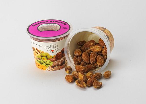 Tubz Tapas Smoked Almonds (amandelen)