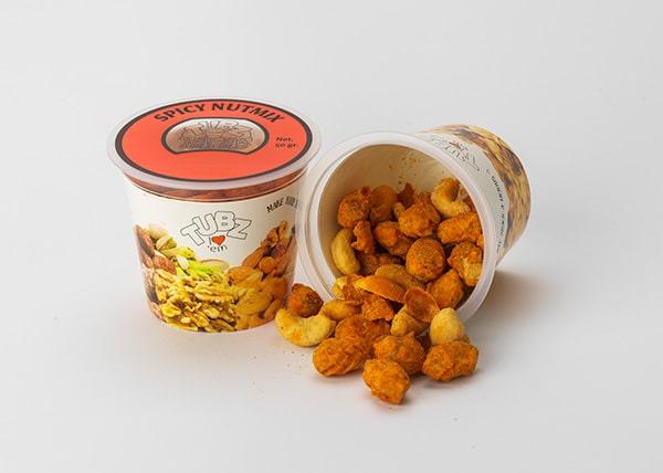 Tubz Tapas Spicy Nutmix