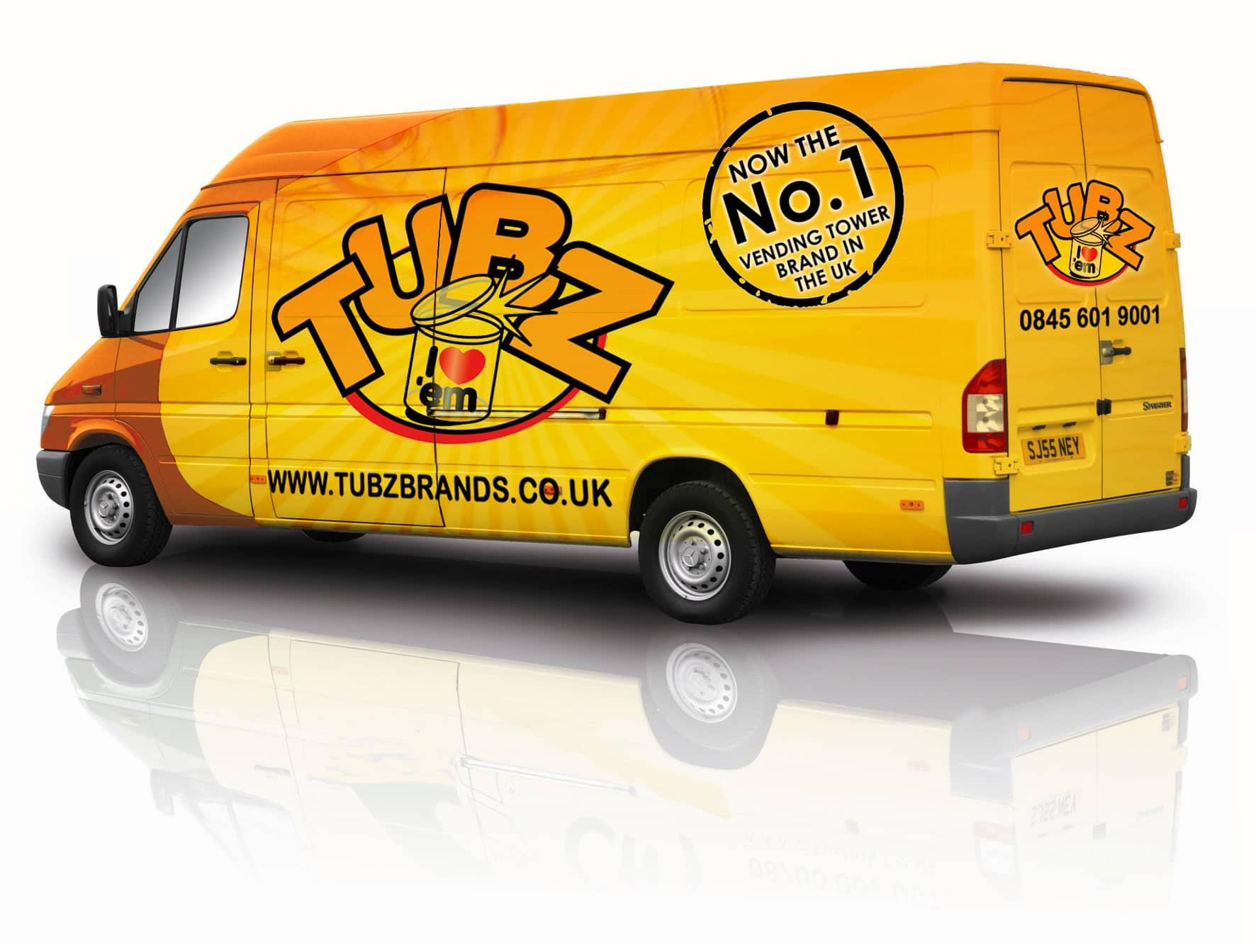 Tubz Vending Franchise Van