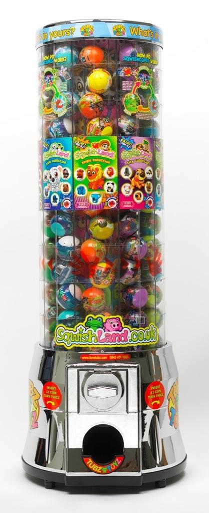 Tubz verkooptoren met Sqwishland speelgoed